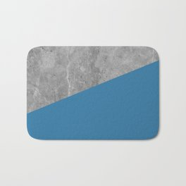 Geometry 101 Saltwater Taffy Teal Bath Mat