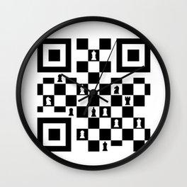 Quick Response game Wall Clock
