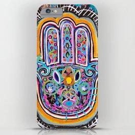 Hamsa Hand II iPhone Case