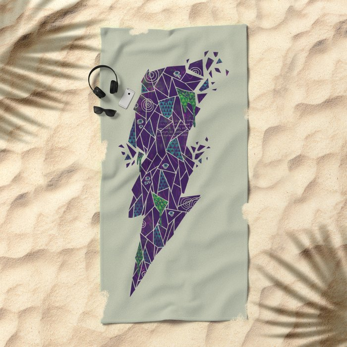 Dark Matter Beach Towel