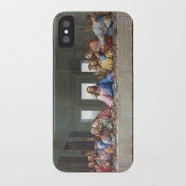The Last Supper by Leonardo da Vinci iPhone Case