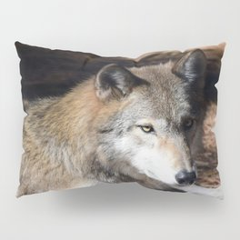 The Eyes of a Wolf Pillow Sham