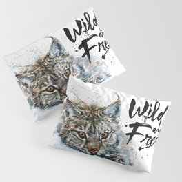 Lynx Wild and Free Pillow Sham