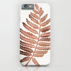Fern Leaf – Rose Gold Palette iPhone 6s Slim Case