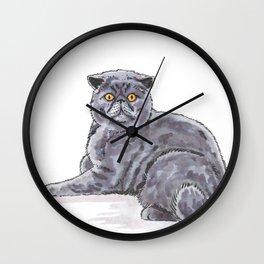 Meow/Miauw Wall Clock