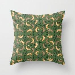 Veggie Cats Throw Pillow
