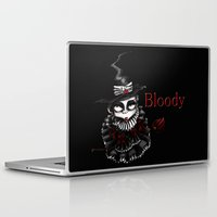 oz Laptop & iPad Skins featuring Oz -Red by artlandofme