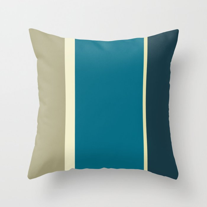 Présidentielles France 2017 Throw Pillow