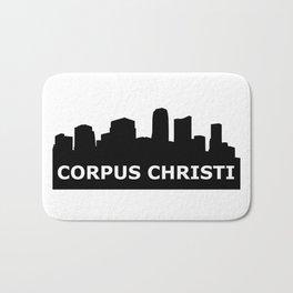 Corpus Christi Skyline Bath Mat