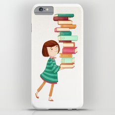 Library Girl 3 iPhone 6 Plus Slim Case