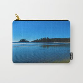 Rippled beaches of the Pacific Ocean in Western Canada Carry-All Pouch
