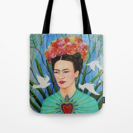 elevar my corazon Tote Bag