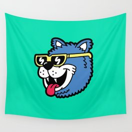 Cool Bear (portrait) Wall Tapestry