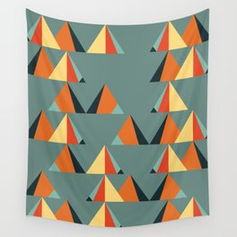 complementary triangles Wall Tapestry