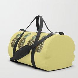 Four Juicy Pineapples Summer Fruits Series Duffle Bag