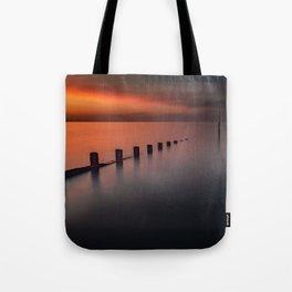 Seascape Sunset Tote Bag