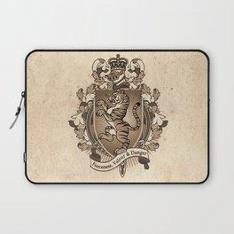 Tiger Coat Of Arms Heraldry Laptop Sleeve