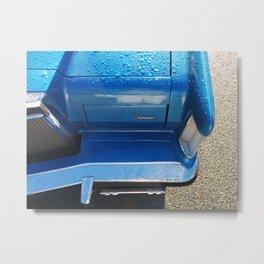 blue morning cadillac Metal Print