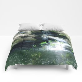 The Flowing Waterfall Comforters