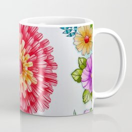 Bright Red Flower Called Sweet William Coffee Mug