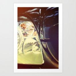 Vintage Car Photo Art Print