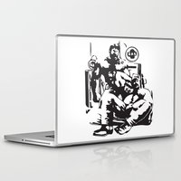 muscle Laptop & iPad Skins featuring Muscle Bears by Kawtastic