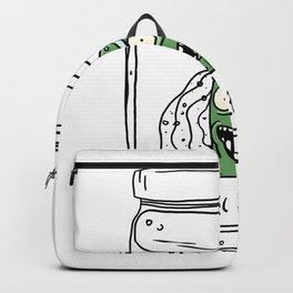 Pickle Rick Backpack
