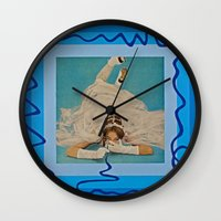 bride Wall Clocks featuring Bride by Canson City