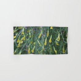 Weeping Caragana Flowers Hand & Bath Towel