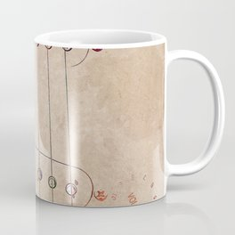 Guitar art 10 #guitar #music Coffee Mug