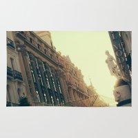 madrid Area & Throw Rugs featuring Madrid by Mario Pantoja