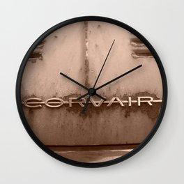 Rusty Corvair Wall Clock