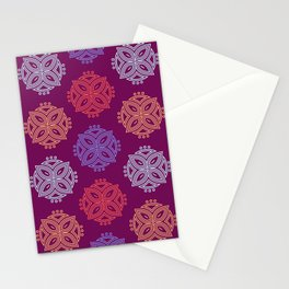 Petals | Floral Pattern | Moroccan-Style Stationery Cards