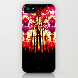 Sunset Stain Glass iPhone Case