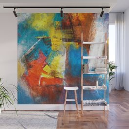 Infinity abstract painting | Abstract Painting Wall Mural