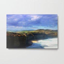 Southern Ocean Headlands Metal Print
