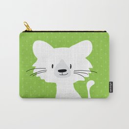 Green cat Carry-All Pouch