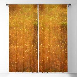 In Fields of Gold, Landscape Wildflowers Blackout Curtain