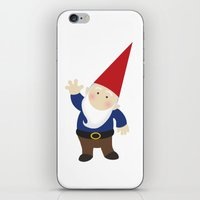 gnome iPhone & iPod Skins featuring Gnome Love by Ink Tree Press by Erin Rippy