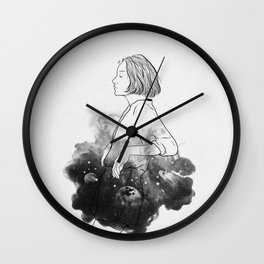 Night stories b&w. Wall Clock