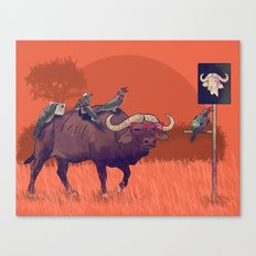 I'll take the buffalo Canvas Print