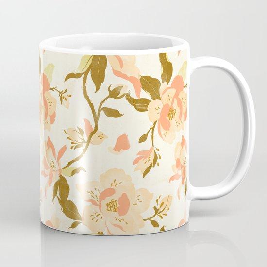 Magnolia Pattern Mug
