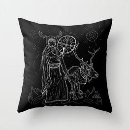 The Noaidi Throw Pillow
