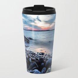 Lake Waco-Long Exposure Travel Mug