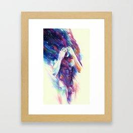 Color/Motion Framed Art Print