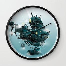The Nautilus Wall Clock