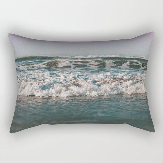 Ocean Crash Rectangular Pillow