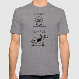 Inhale Exhale Beagle T-shirt