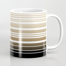 Bay Ombre Stripe: Neutral Coffee Mug