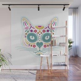 Gato De Los Muertos Wall Mural